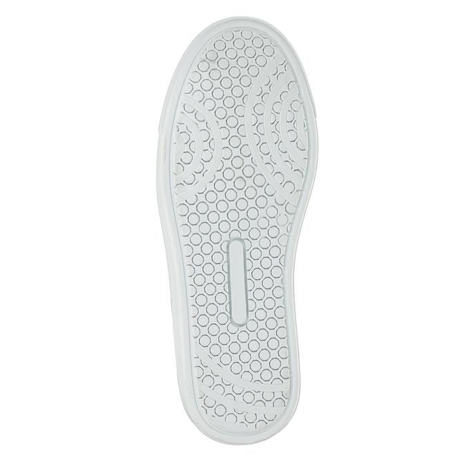 Dětská kotníčková obuv kožená bullboxer, šedá, 494-8023 - 17