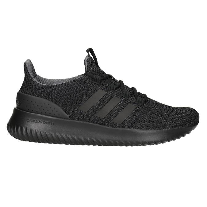 Pánské černé tenisky adidas, černá, 809-6204 - 26