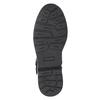 Kožená kotníčková obuv dětská bullboxer, černá, modrá, 496-9015 - 17