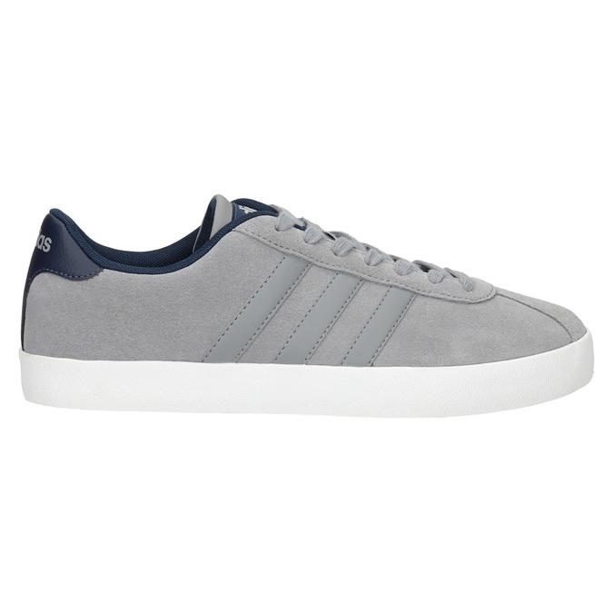 Šedé kožené tenisky adidas, šedá, 803-7197 - 26