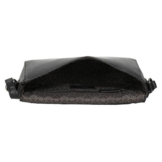 Černá Crossbody kabelka gabor-bags, černá, 961-6035 - 15