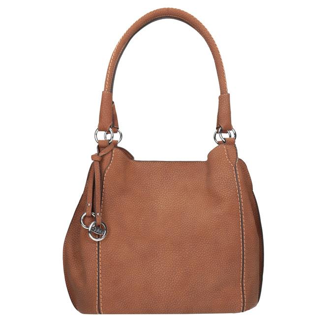 Hnědá dámská kabelka gabor-bags, hnědá, 961-3049 - 26