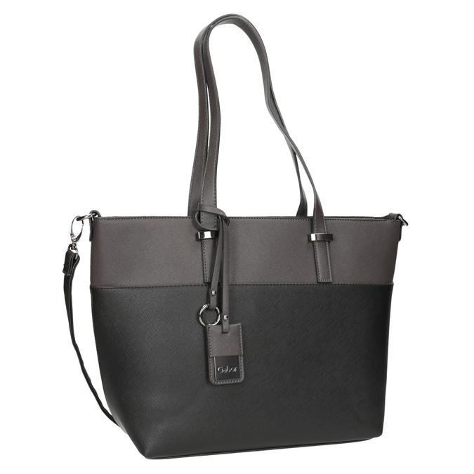 Dámská kabelka s popruhem gabor-bags, šedá, 961-2037 - 13