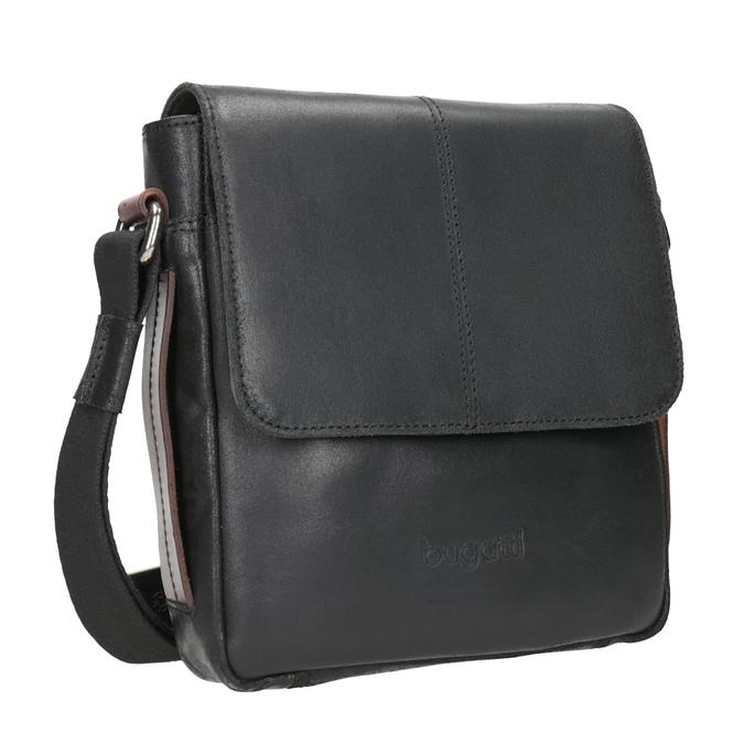 Pánská kožená Crossbody taška bugatti-bags, černá, 964-6027 - 13