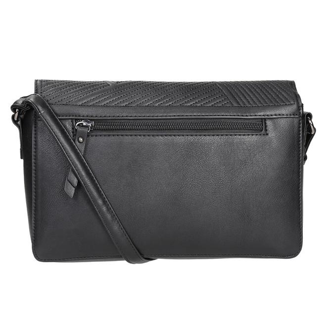 Černá Crossbody kabelka gabor-bags, černá, 961-6035 - 16
