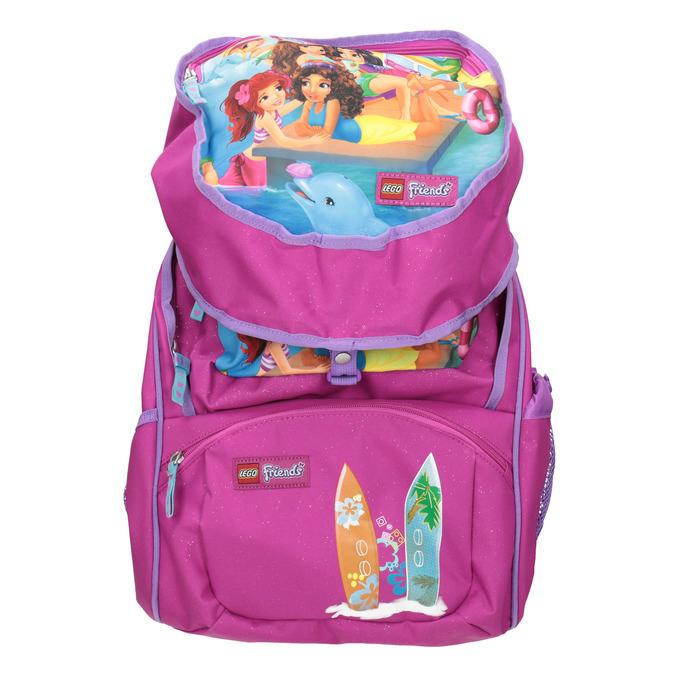 Růžový školní batoh lego-bags, růžová, 969-5020 - 17