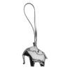Metalická ozdoba na kabelku bree, bílá, 996-1001 - 26