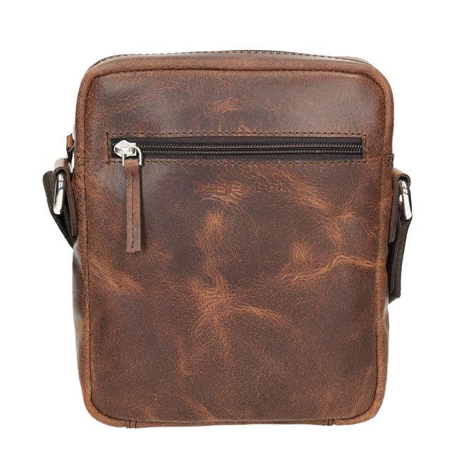 Kožená pánská Crossbody taška bugatti-bags, hnědá, 964-3016 - 26