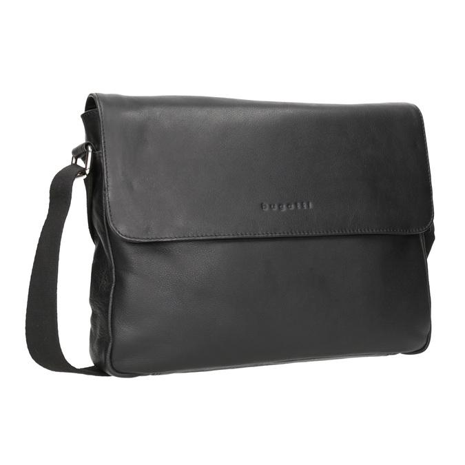 Černá kožená Crossbody taška bugatti-bags, černá, 964-6011 - 13