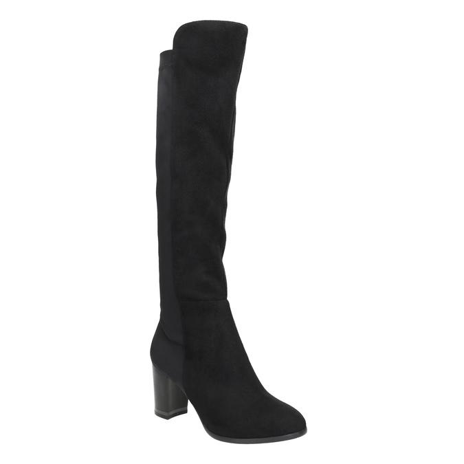 Kozačky s pružnou částí bata, černá, 699-6635 - 13