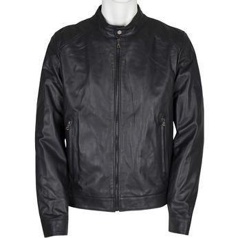 Pánská kožená bunda bata, černá, 974-6154 - 13