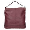 Kožená kabelka v Hobo stylu bata, červená, 964-5261 - 26