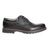 Kožené pánské polobotky bata, černá, 826-6619 - 15