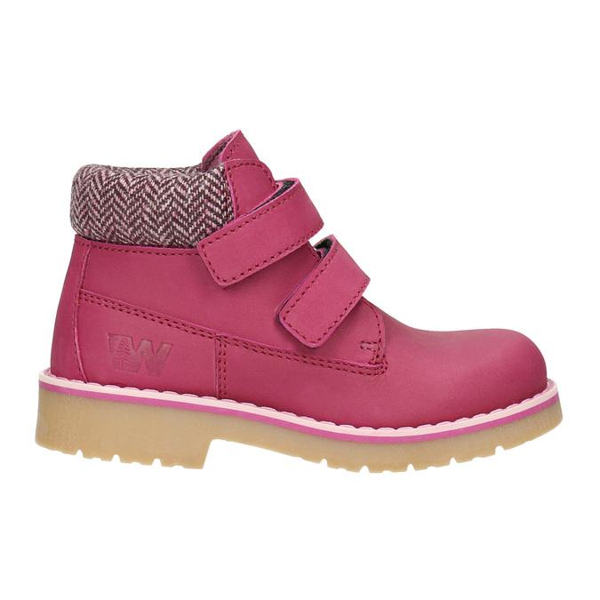 Růžová dětská zimní obuv weinbrenner-junior, růžová, 226-5200 - 26
