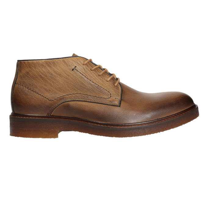 Pánské kožené Chukka Boots bata, hnědá, 826-2919 - 26