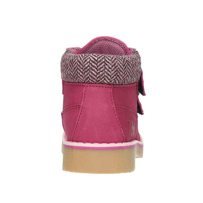 Růžová dětská zimní obuv weinbrenner-junior, růžová, 226-5200 - 16