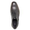 Ležérní kožené polobotky se strukturou bata, šedá, 826-2612 - 19