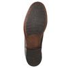 Hnědé kožené Chelsea Boots bata, hnědá, 896-3673 - 19