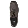 Ležérní kožené polobotky bata, hnědá, 824-4925 - 26