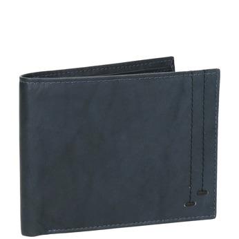 Pánská kožená peněženka modrá bata, modrá, 944-9183 - 13