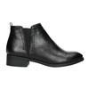 Kotníčková dámská obuv bata, černá, 591-6619 - 15