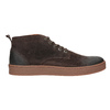 Pánská kožená kotníčková obuv bata, hnědá, 846-4653 - 26
