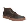 Pánská kožená kotníčková obuv bata, hnědá, 846-4653 - 13