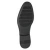 Pánské polobotky v Derby stylu bata, černá, 824-6618 - 19
