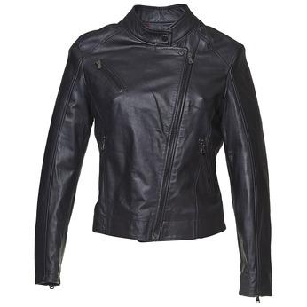 Kožená dámská bunda bata, černá, 974-6119 - 13