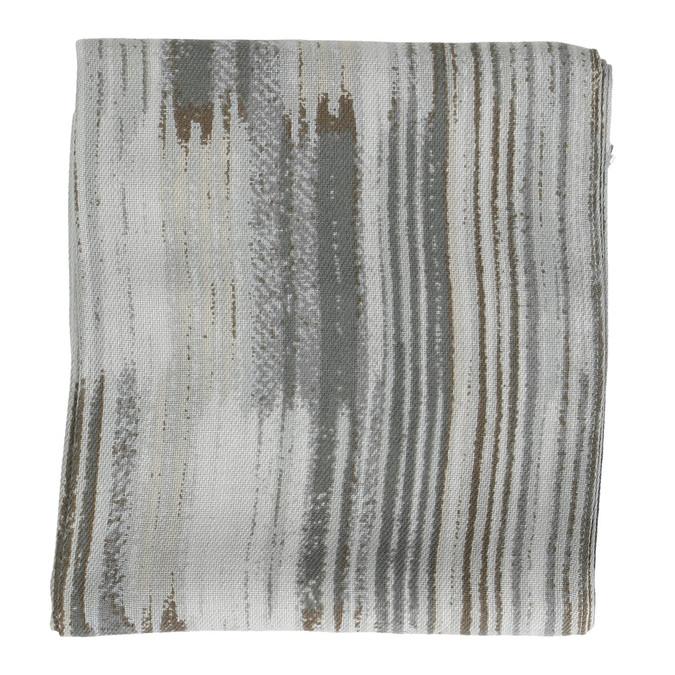 Dámský šátek se žíháním bata, šedá, 909-2625 - 26