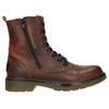 Dámská kotníčková obuv se zipem bata, hnědá, 596-3681 - 26