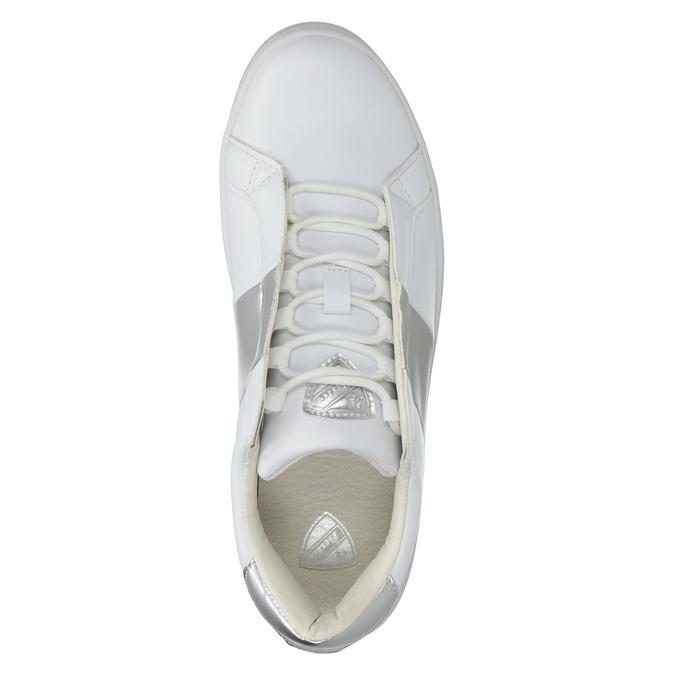 Dámské bílé tenisky atletico, bílá, 501-1171 - 15