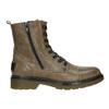 Kožená dámská kotníčková obuv bata, hnědá, 596-7681 - 26