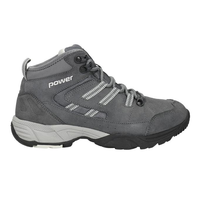 Kožená kotníčková obuv v Outdoor stylu power, šedá, 503-2232 - 26