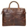 Kožená pánská taška s prošíváním bata, hnědá, 964-4139 - 17