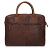 Kožená pánská taška s prošíváním bata, hnědá, 964-4139 - 26