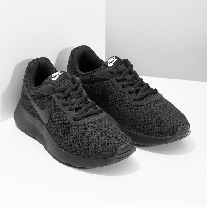 Černé dámské tenisky sportovního střihu nike, černá, 509-0157 - 26