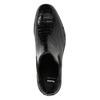 Kožená dámská Chelsea obuv se strukturou bata, černá, 596-6678 - 26