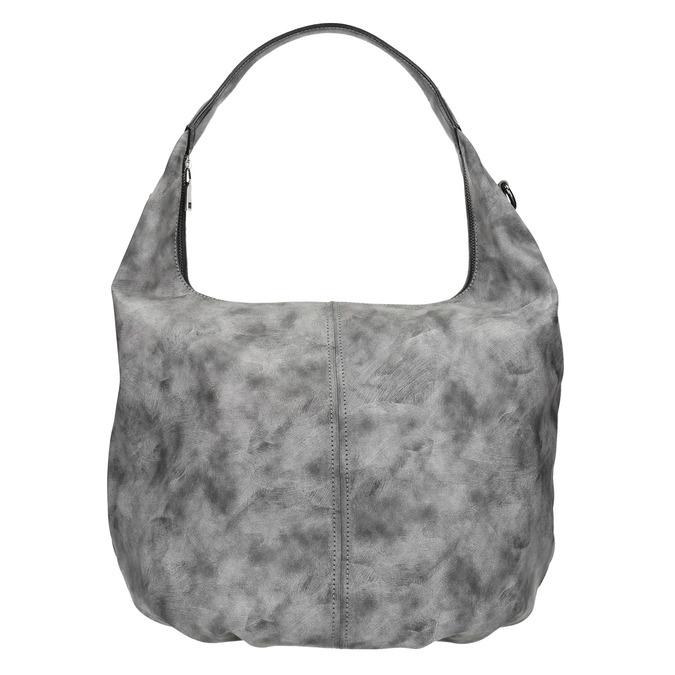 Hobo kabelka s řetízkem bata, šedá, 961-2765 - 17