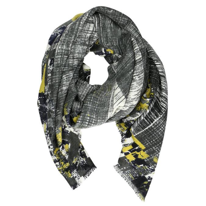 Dámský šátek se žíháním bata, černá, 909-6628 - 13
