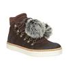 Kožená kotníčková obuv weinbrenner, hnědá, 596-4674 - 13