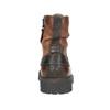 Kožená kotníčková obuv bata, hnědá, 896-3663 - 16