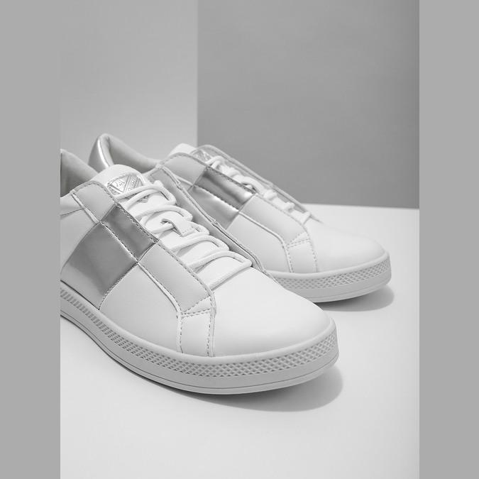 Dámské bílé tenisky atletico, bílá, 501-1171 - 14