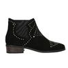 Kotníčková obuv se zlatou aplikací steve-madden, černá, 513-6082 - 26