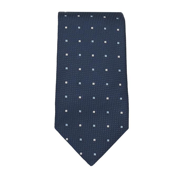 Sada kravaty, kapesníčku a manžetových knoflíčků n-ties, modrá, 999-9295 - 26
