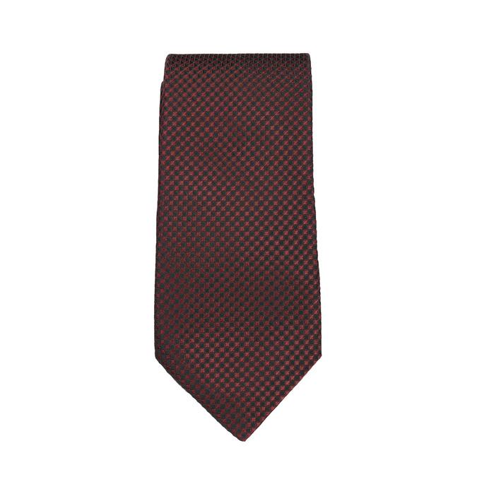 Sada kravaty a kapesníčku se vzorem n-ties, červená, 999-5292 - 26