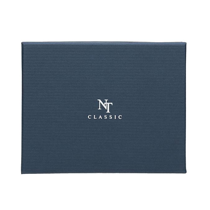 Sada kravaty a kapesníčku se vzorem n-ties, modrá, 999-9296 - 16