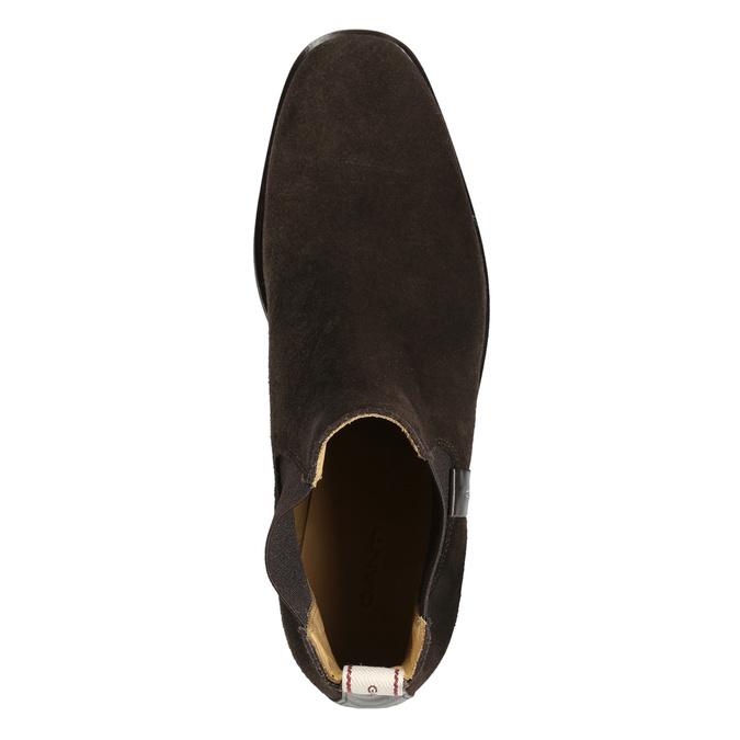 Hnědá dámská Chelsea obuv gant, hnědá, 513-4085 - 26