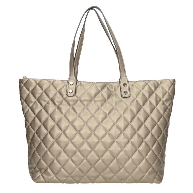 Prošívaná dámská kabelka bata, hnědá, 961-4139 - 26