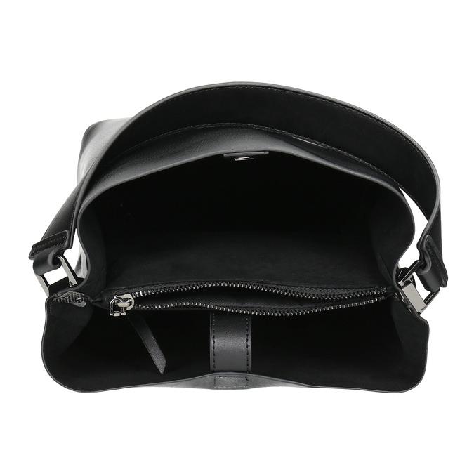 Černá kabelka s odnímatelným popruhem bata, černá, 961-2173 - 15